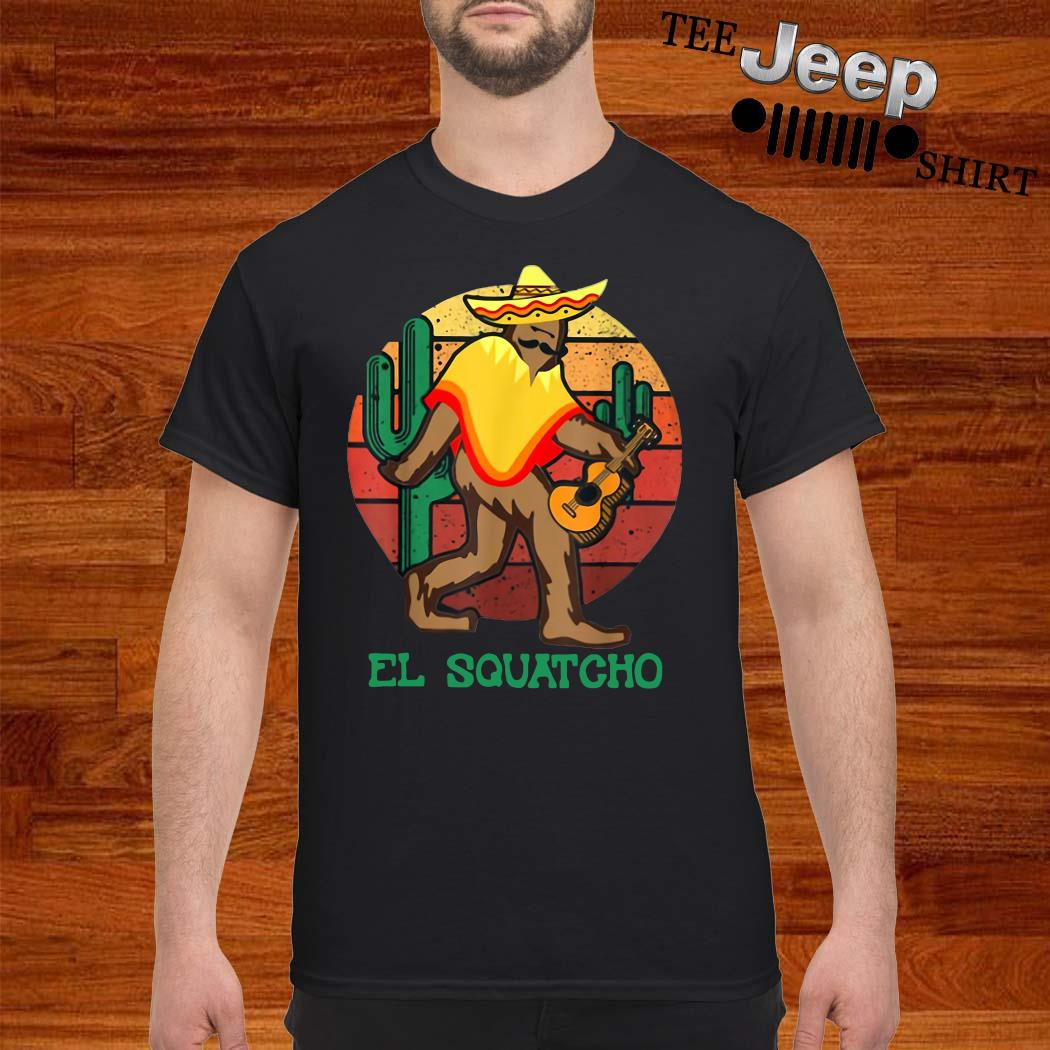 Bigfoot El Squatcho Vintage Shirt