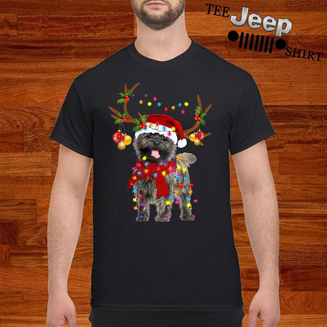 Cairn Terrier Gorgeous Reindeer Christmas Shirt