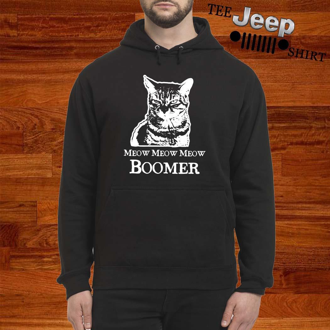 Cat Meow Meow Meow Boomer Hoodie