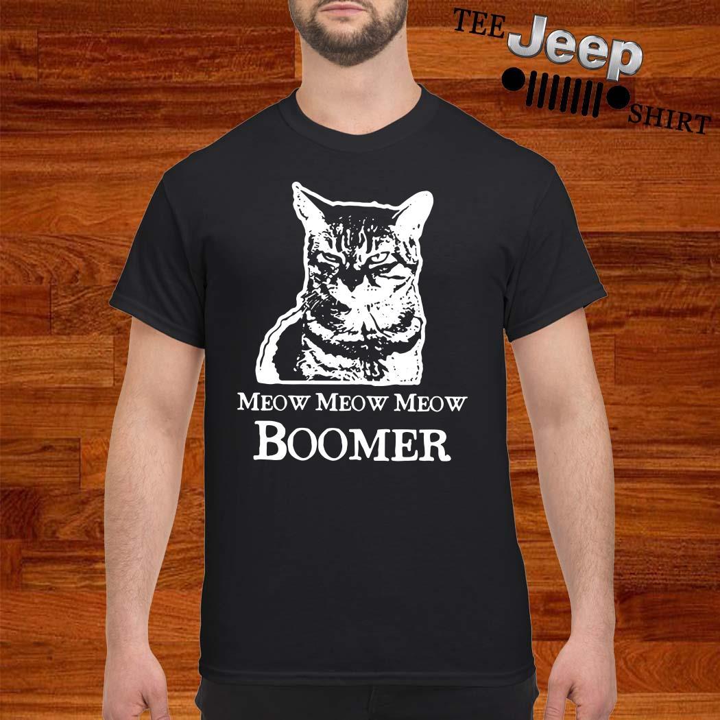 Cat Meow Meow Meow Boomer Shirt