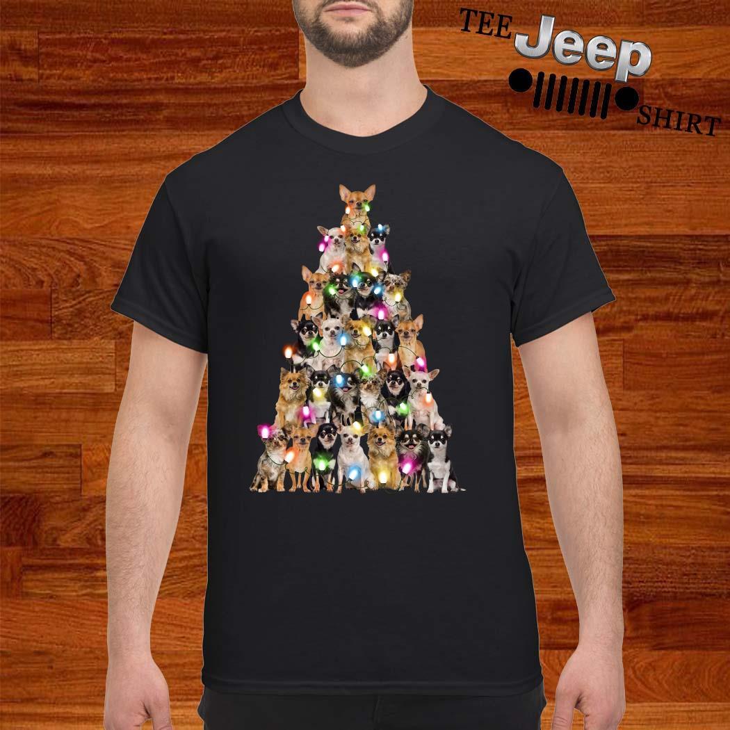 Chihuahua Christmas Tree Shirt
