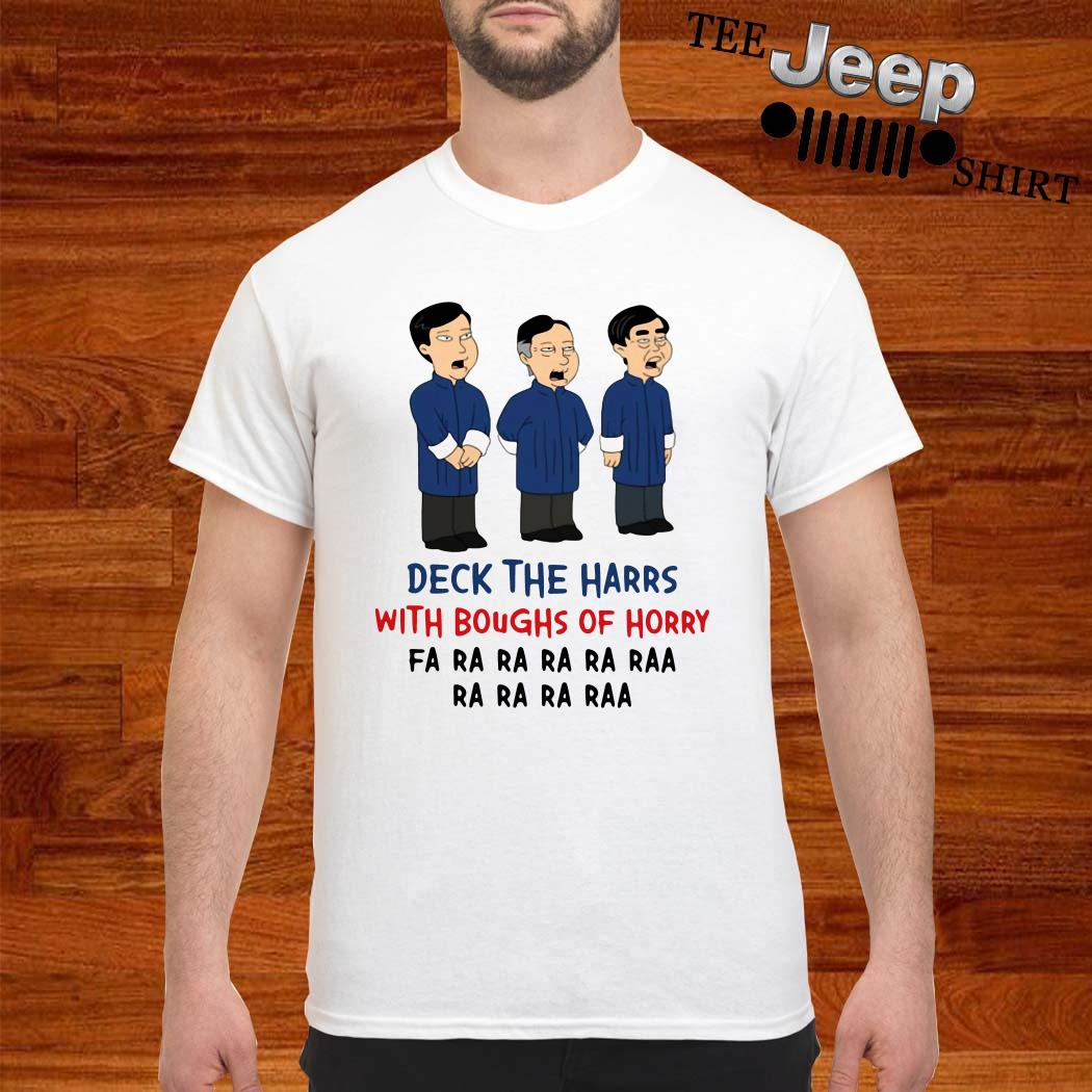 Deck The Harrs With Boughs Of Horry Fa Ra Shirt