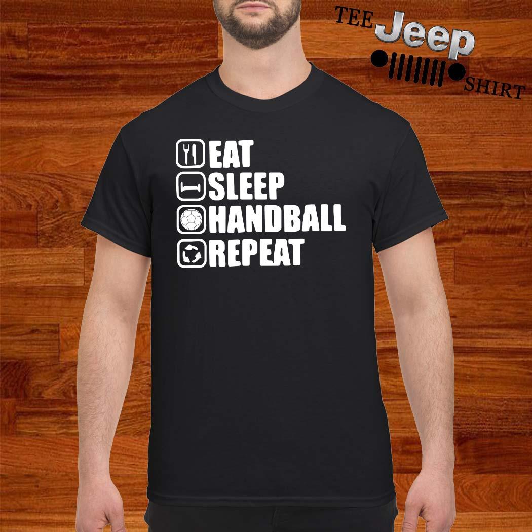 Eat Sleep Handstand Repeat Shirt