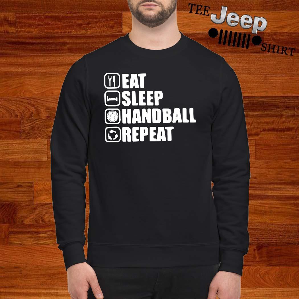Eat Sleep Handstand Repeat Sweatshirt