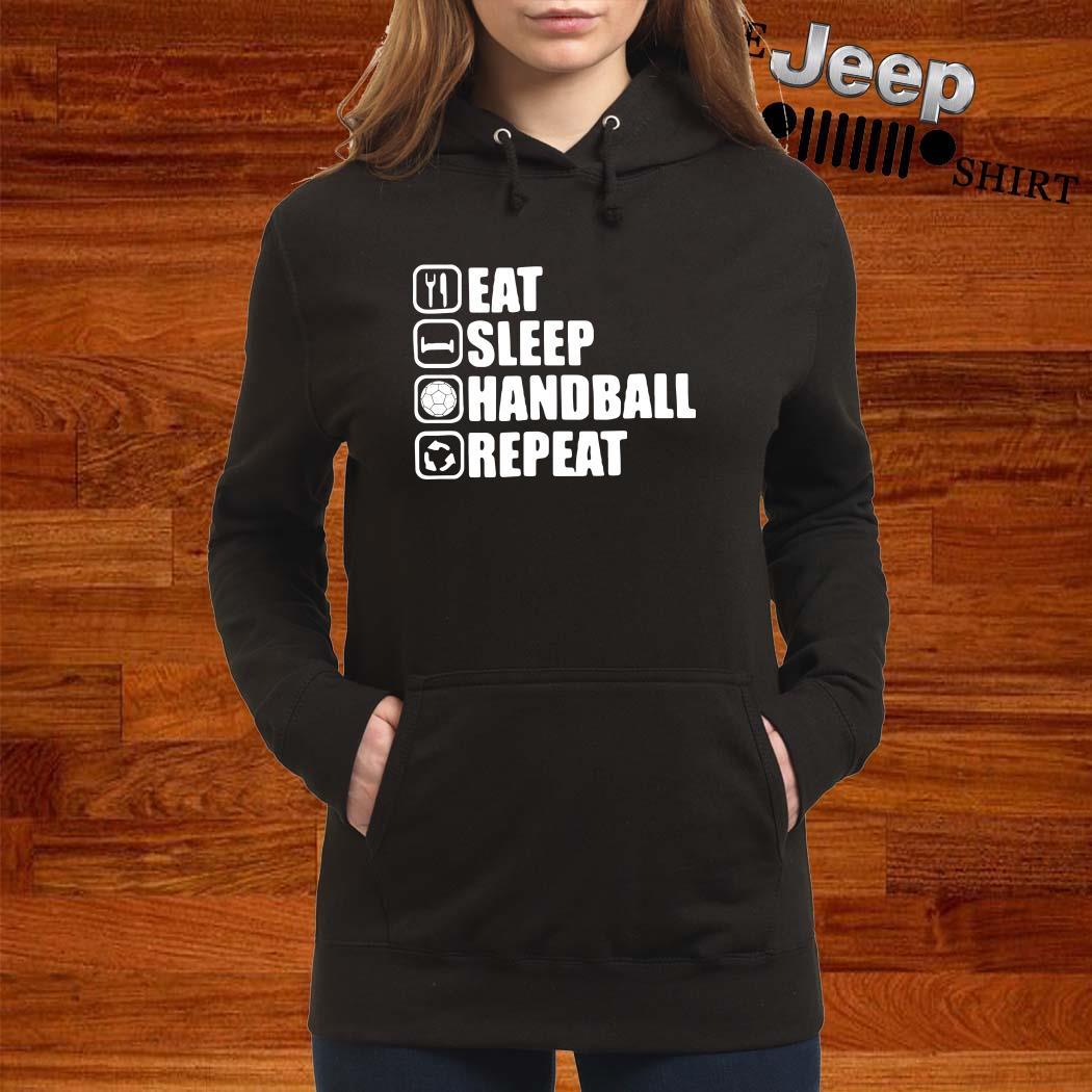 Eat Sleep Handstand Repeat Hoodie