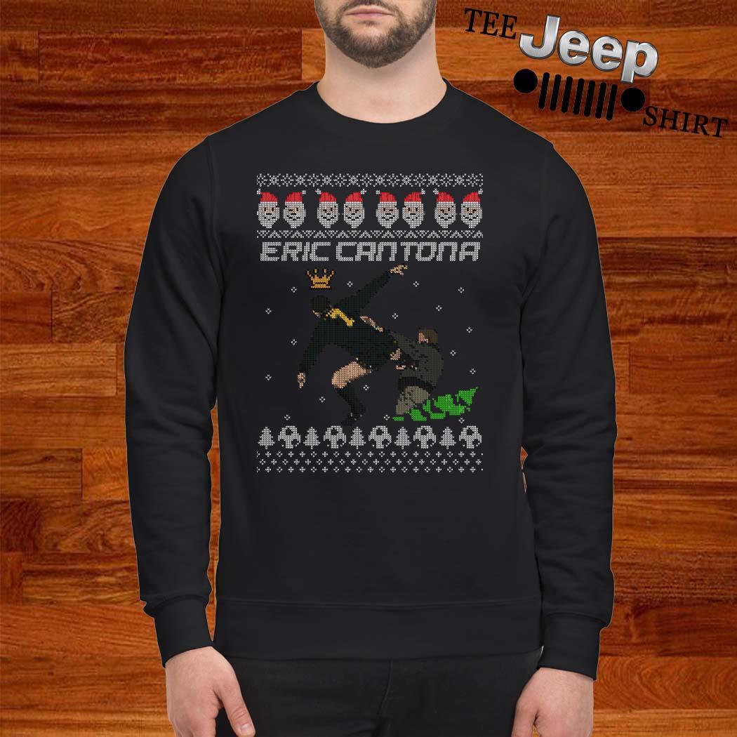 Eric Cantona Kung Fu Ugly Christmas Sweater
