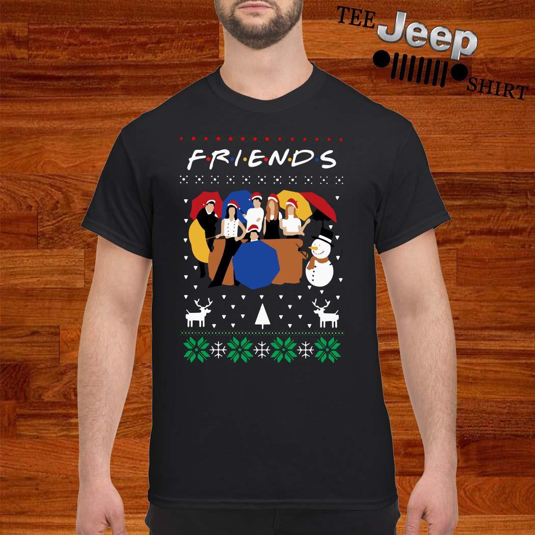 Friends TV Show Ugly Christmas Shirt