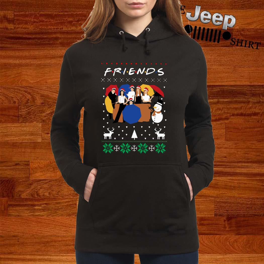 Friends TV Show Ugly Christmas Hoodie