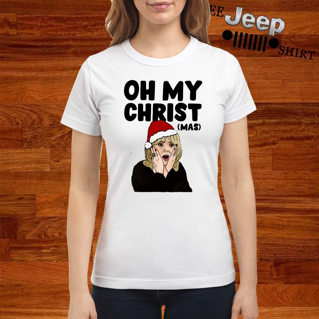 Gavin And Stacey Oh My Christ Ladies Shirt
