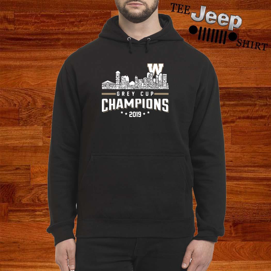 Grey Cup Championship 2019 Hoodie