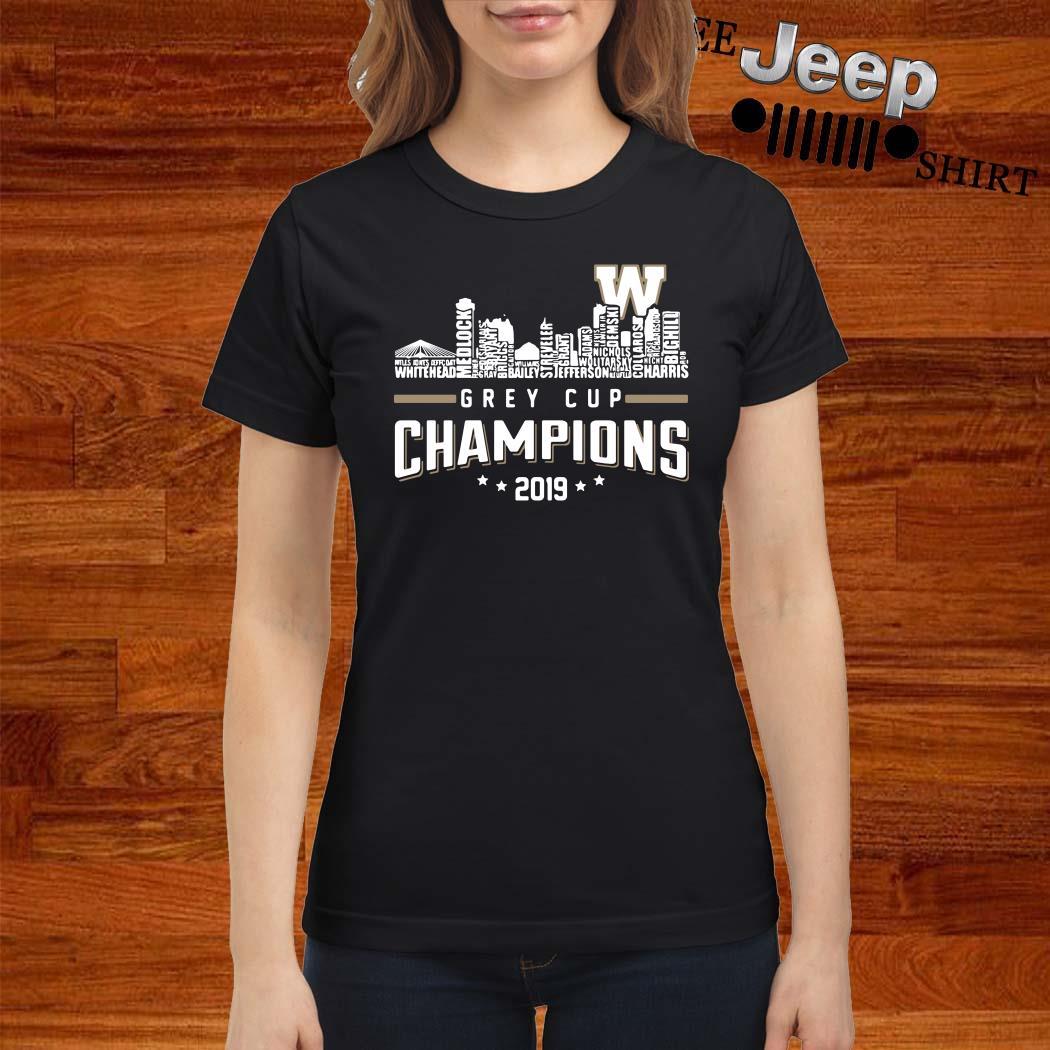 Grey Cup Championship 2019 Ladies Shirt
