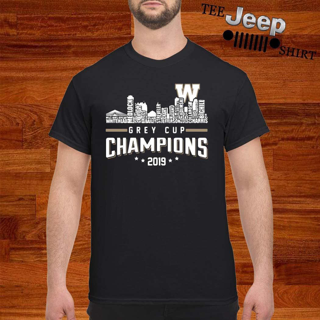 Grey Cup Championship 2019 Shirt