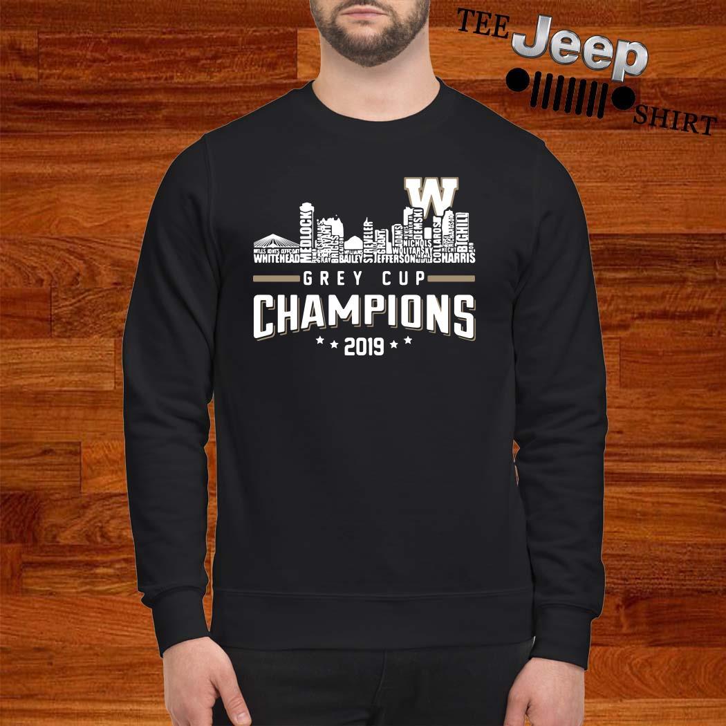 Grey Cup Championship 2019 Sweatshirt