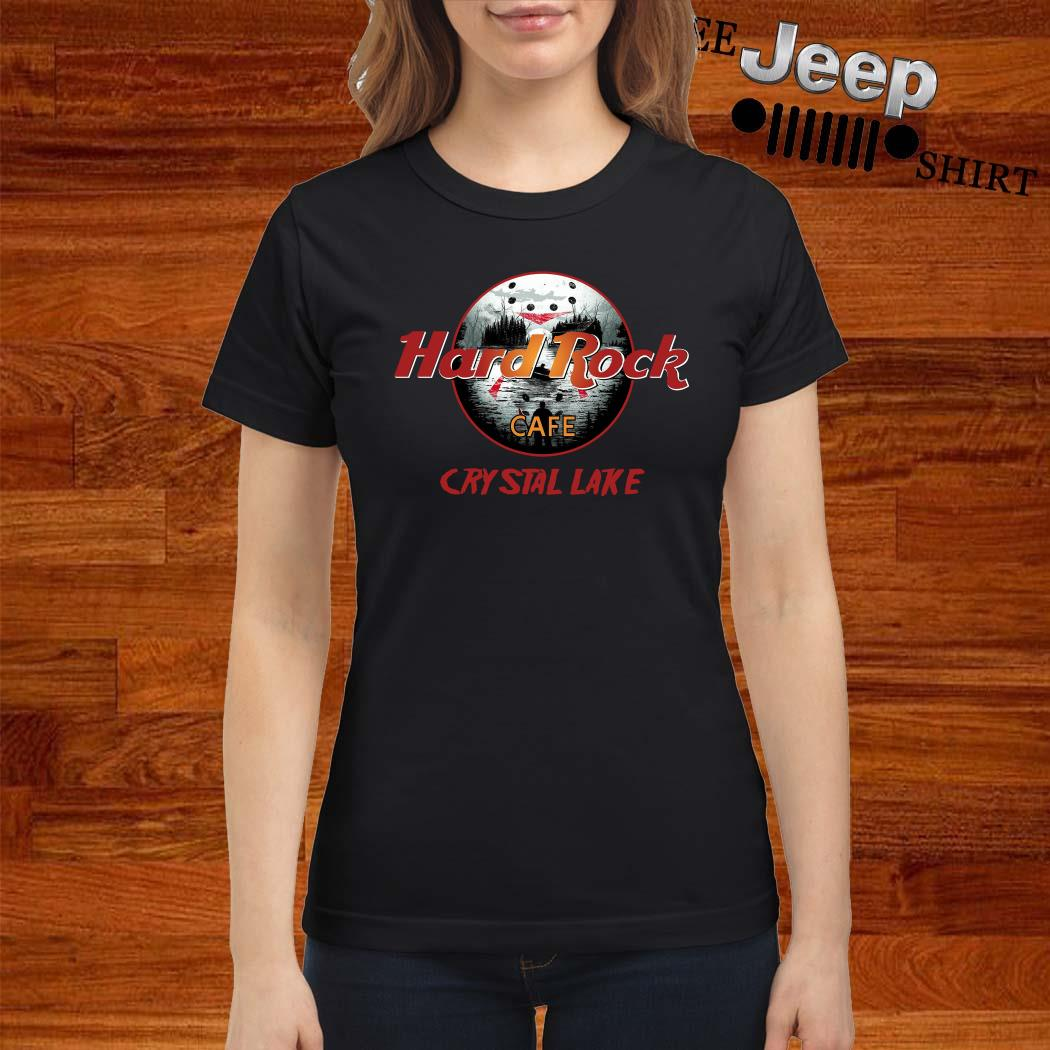 Hard Rock Cafe Crystal Lake Ladies Shirt