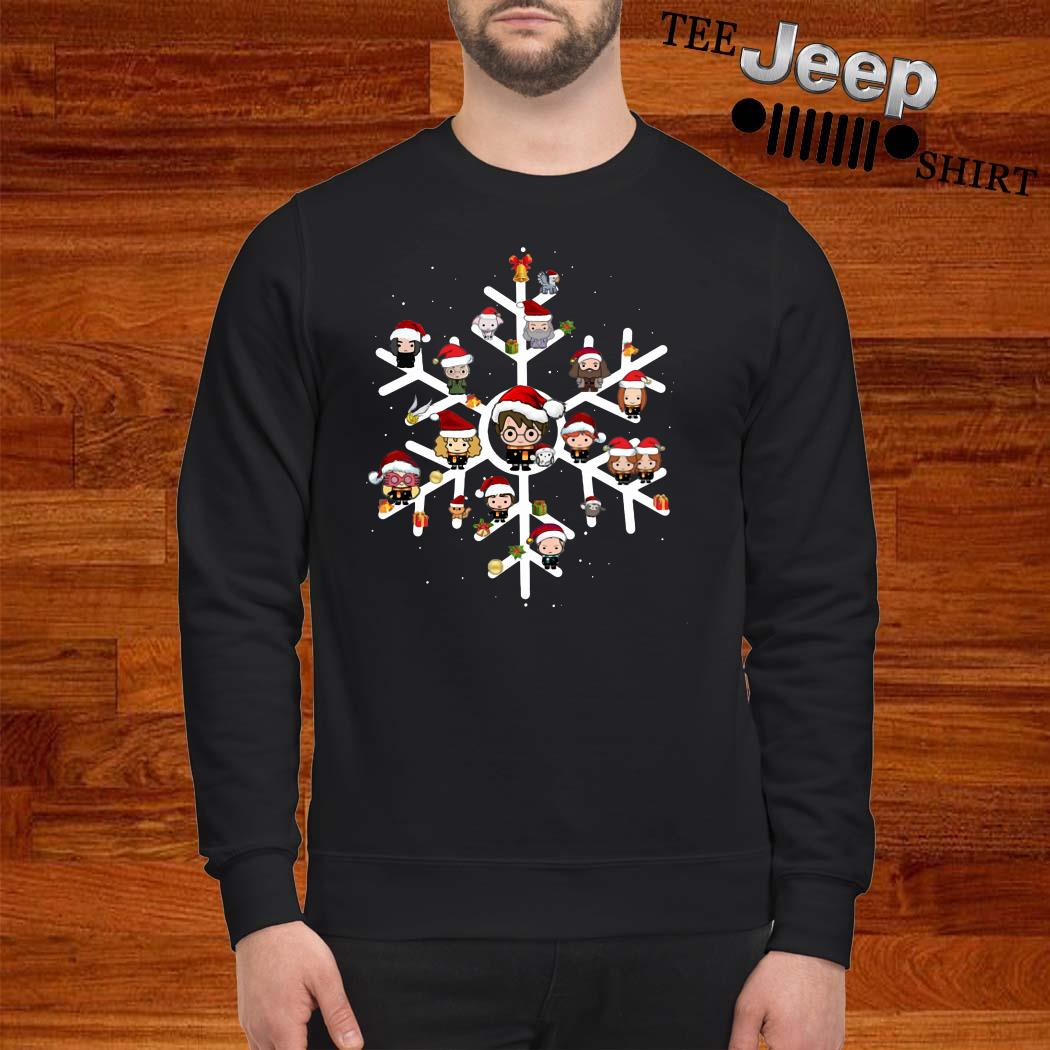 Harry Potter Chibi Character Snow Christmas Sweatshirt