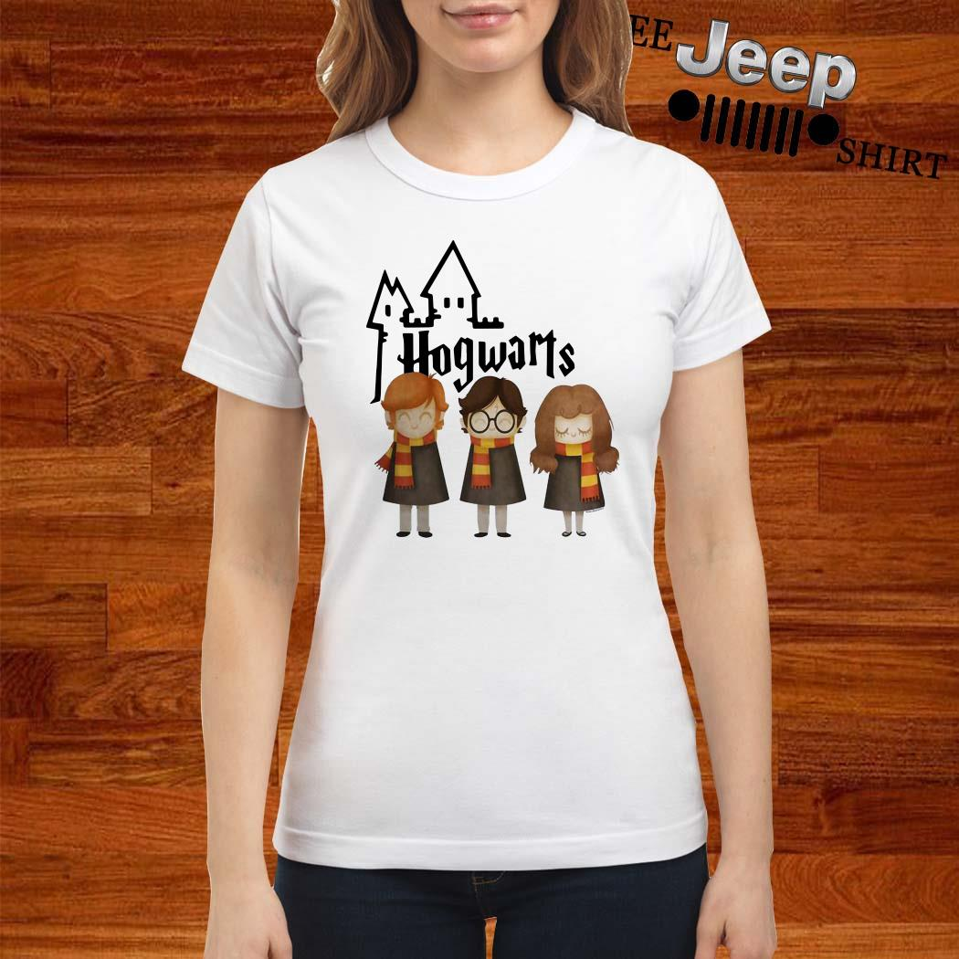 Harry Potter Hermione Granger And Ron Weasley Hogwarts Ladies Shirt