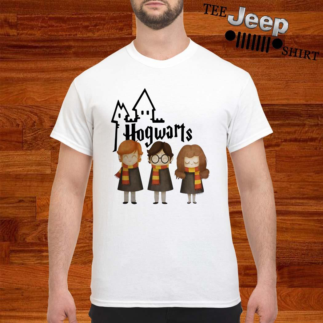 Harry Potter Hermione Granger And Ron Weasley Hogwarts Shirt