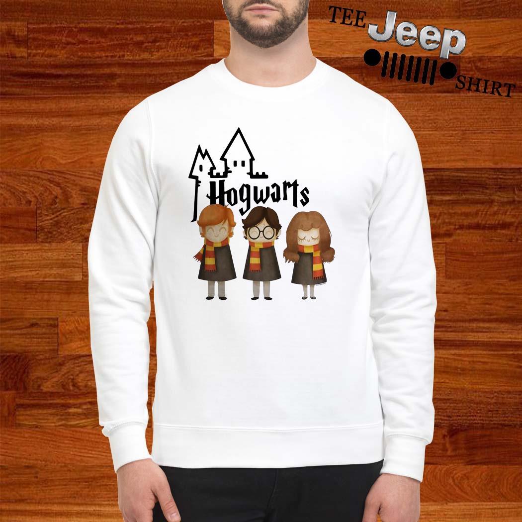 Harry Potter Hermione Granger And Ron Weasley Hogwarts Sweatshirt
