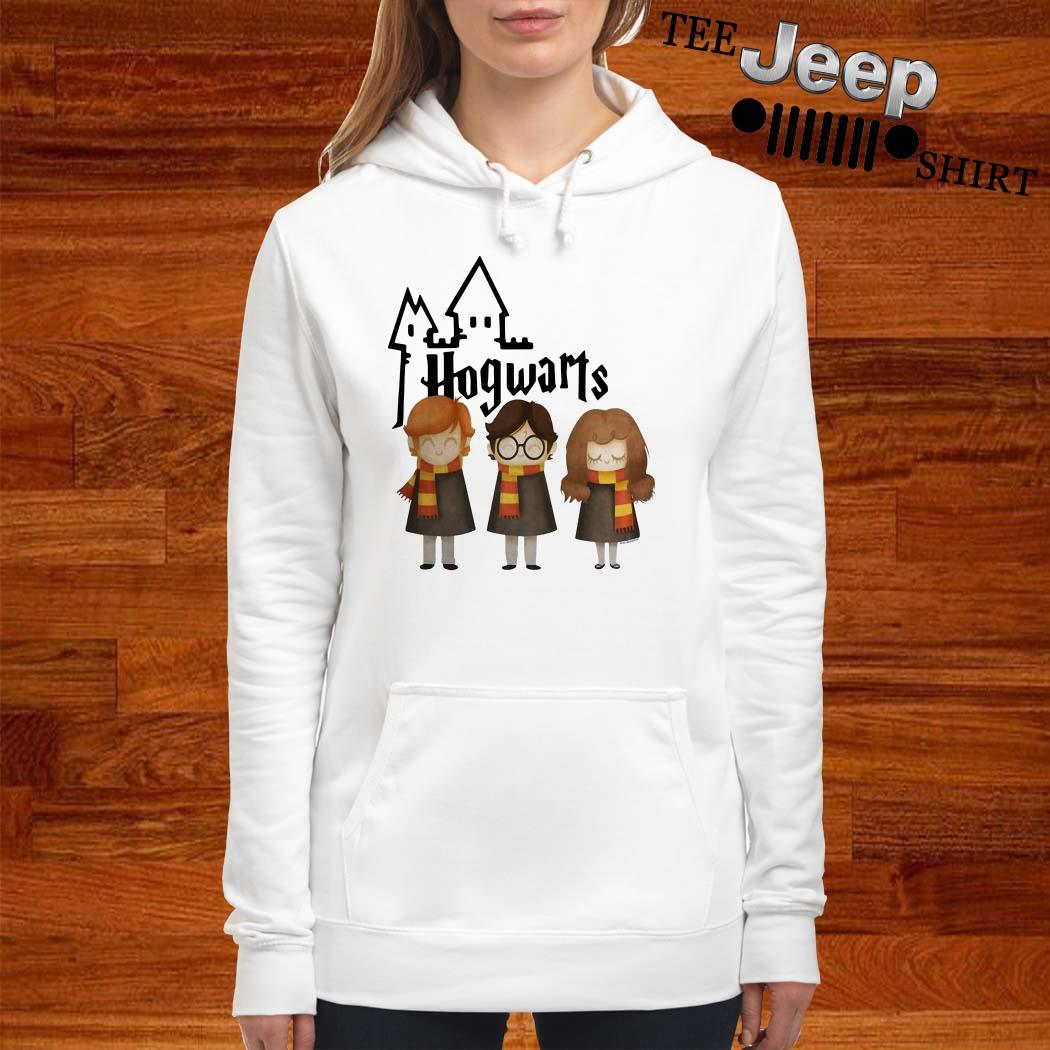 Harry Potter Hermione Granger And Ron Weasley Hogwarts Hoodie
