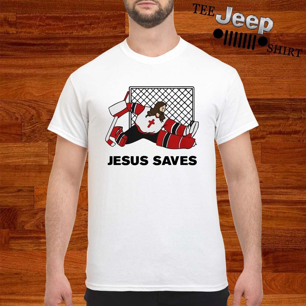 Hockey Jesus Saves Shirt