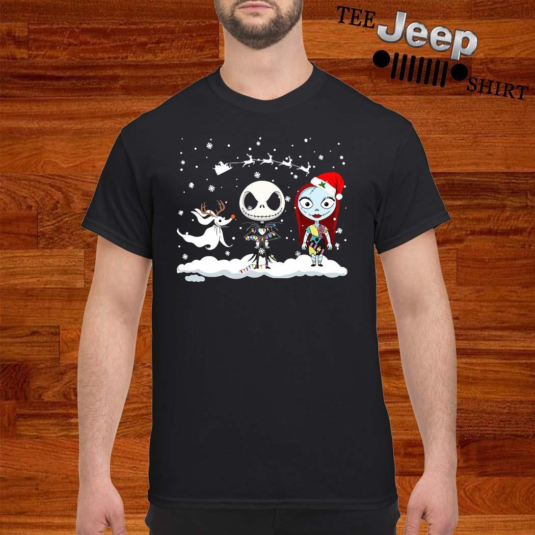 Jack Skellington And Sally Christmas Shirt