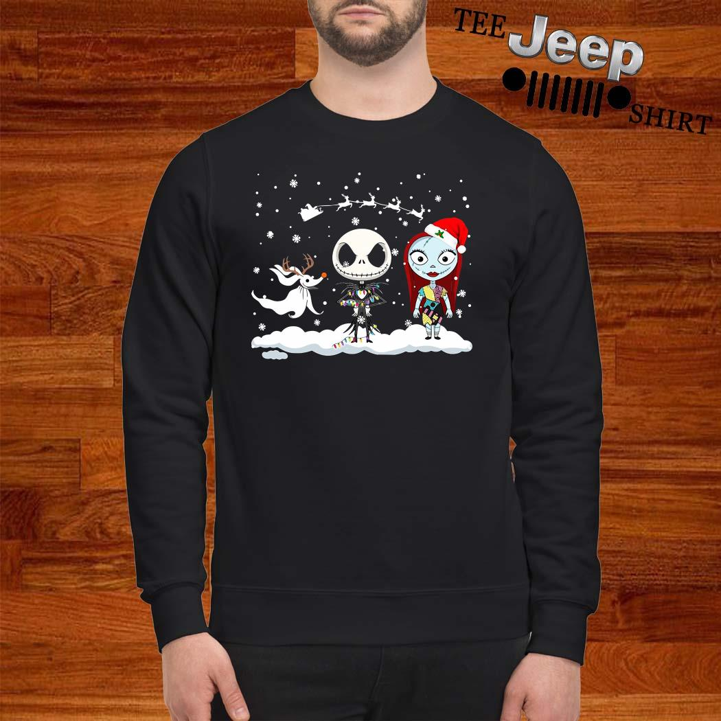 Jack Skellington And Sally Christmas Sweatshirt