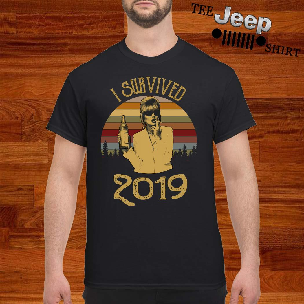 Jennifer Saunders I Survived 2019 Vintage Shirt