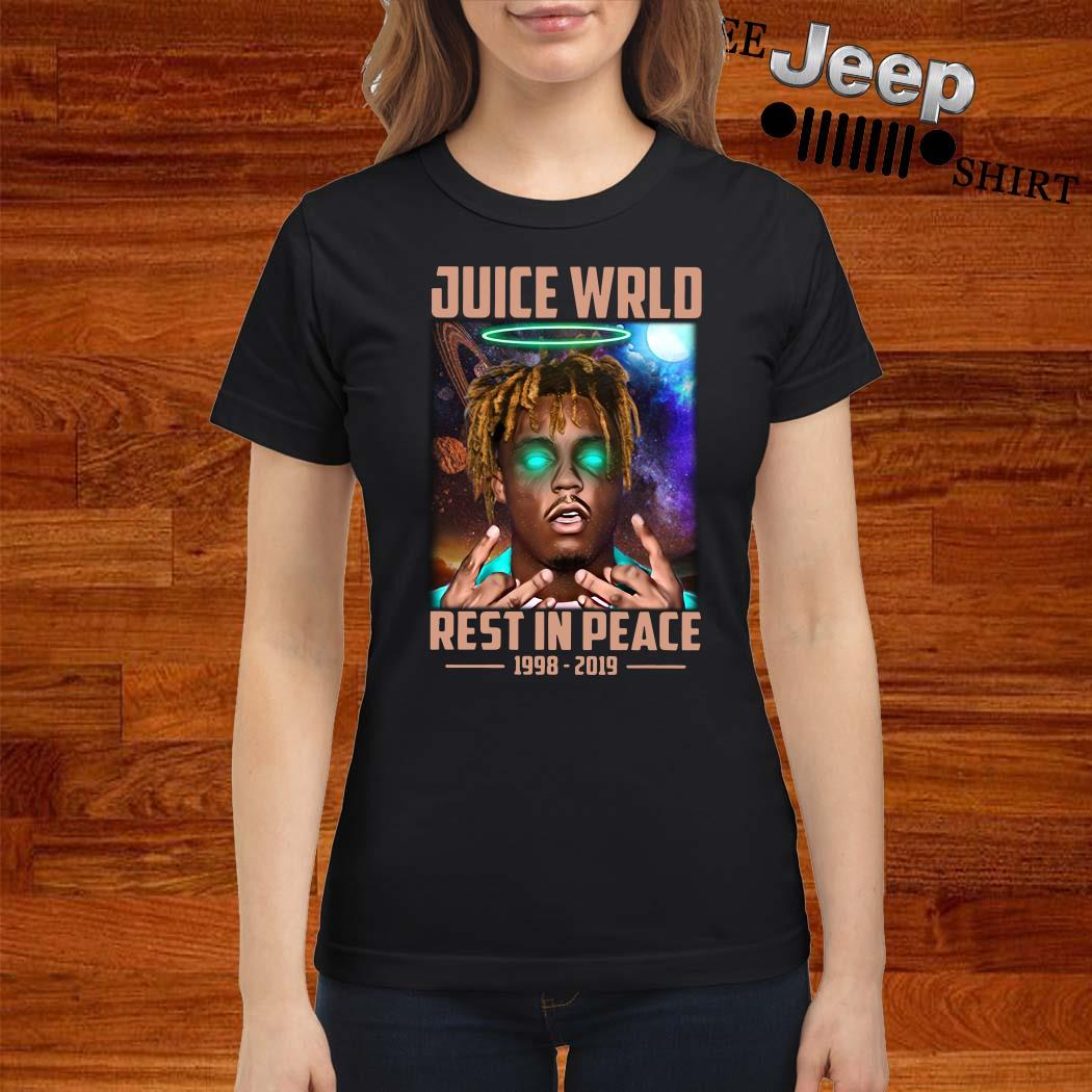 Juice Wrld Rest In Peace 1998-2019 Ladies Shirt