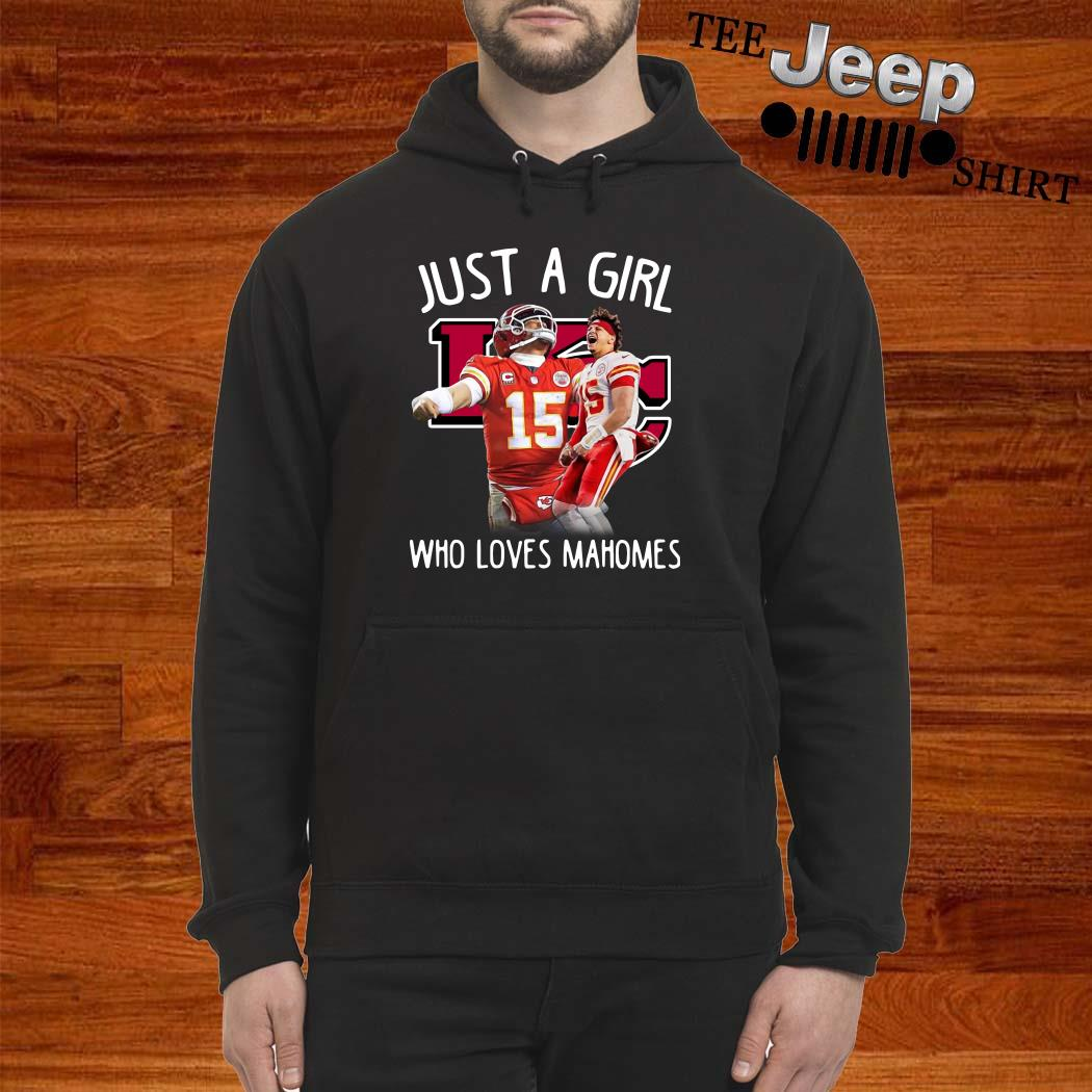 Kansas City Chiefs Just A Girl Who Loves Mahomes Hoodie
