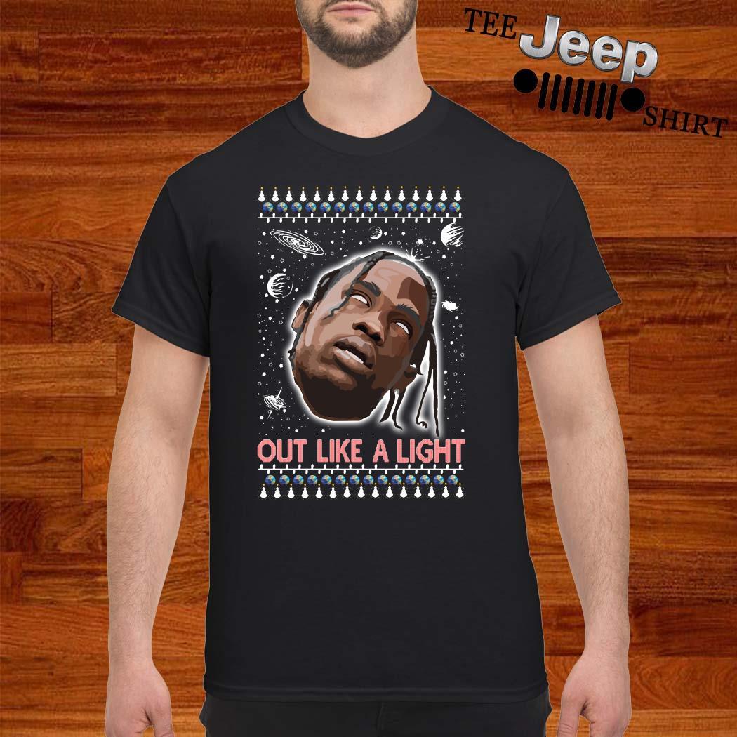 La Flame Out Like A Light Ugly Christmas Shirt