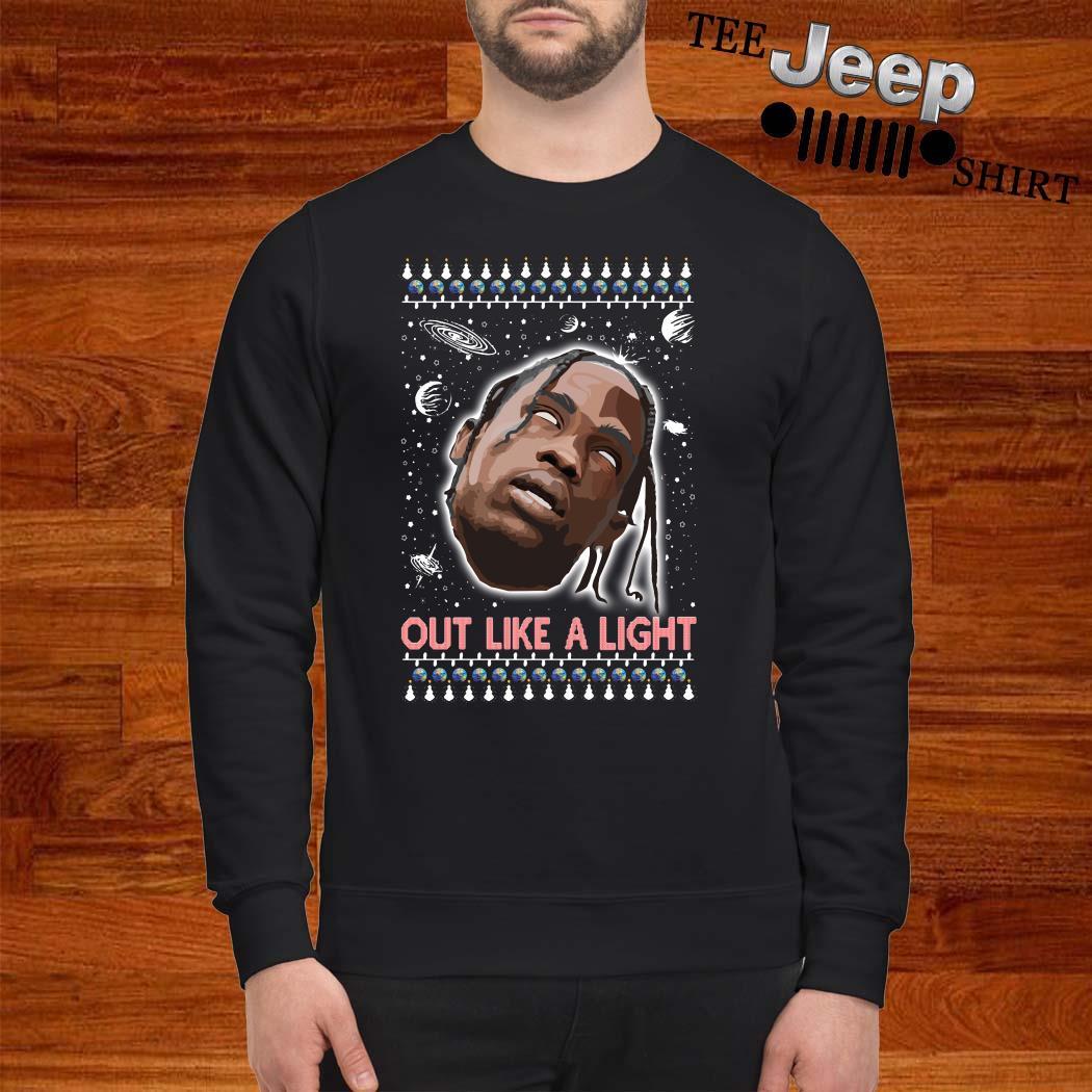 La Flame Out Like A Light Ugly Christmas Sweater