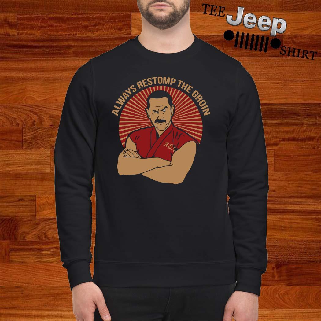Master Ken Always Restomp The Groin Sweater