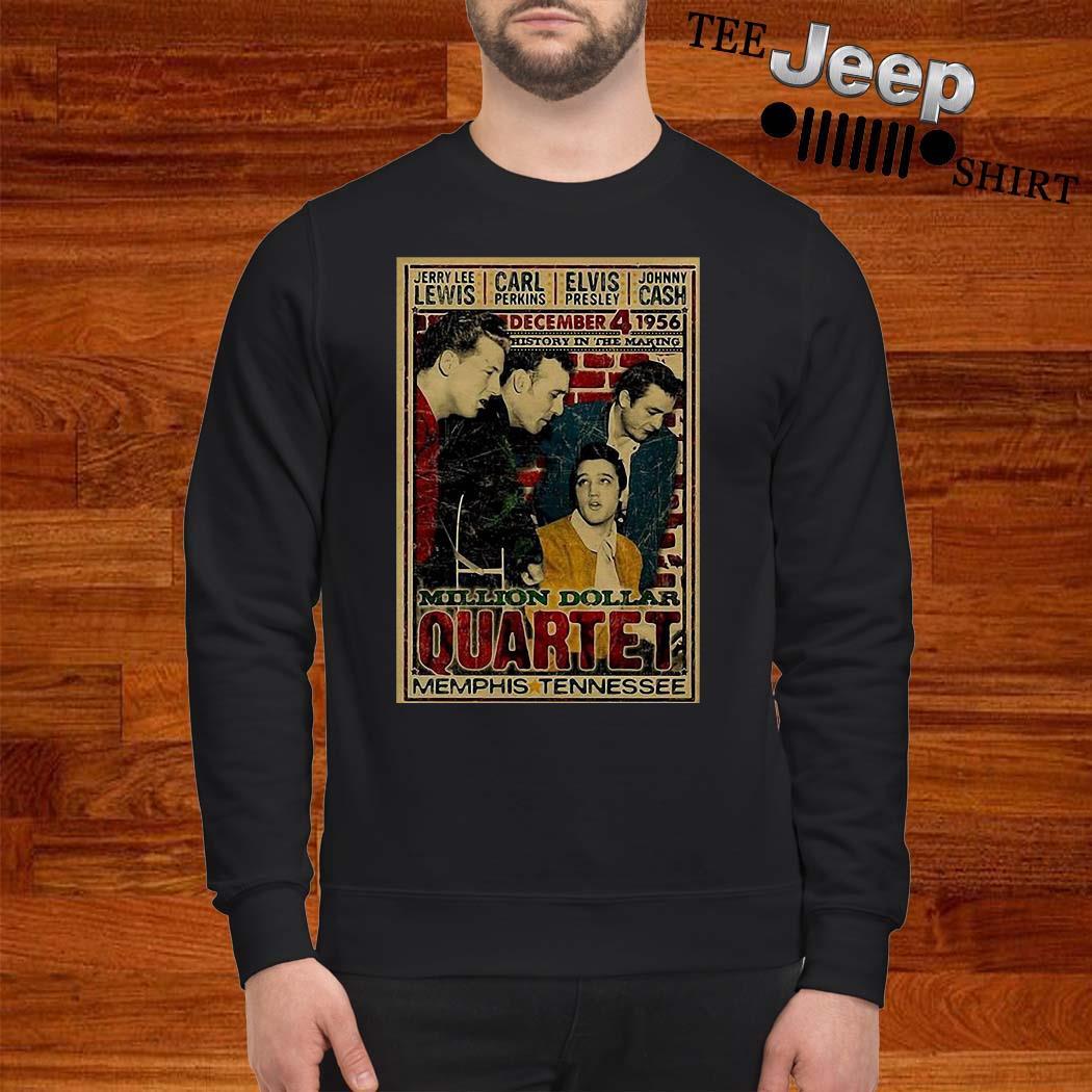 Million Dollar Quartet Memphis Tennessee Sweatshirt
