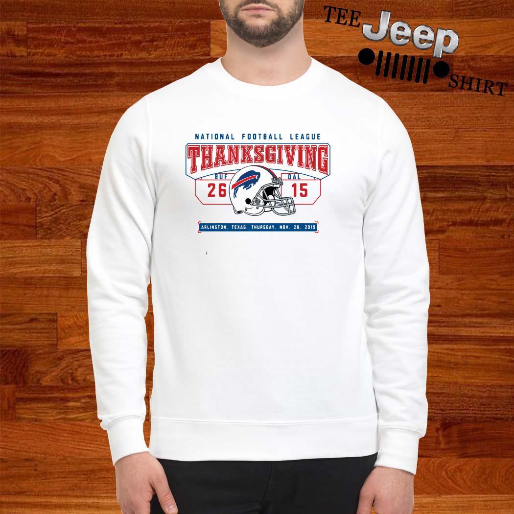 National Football League Thanksgiving Buf Dal Sweatshirt