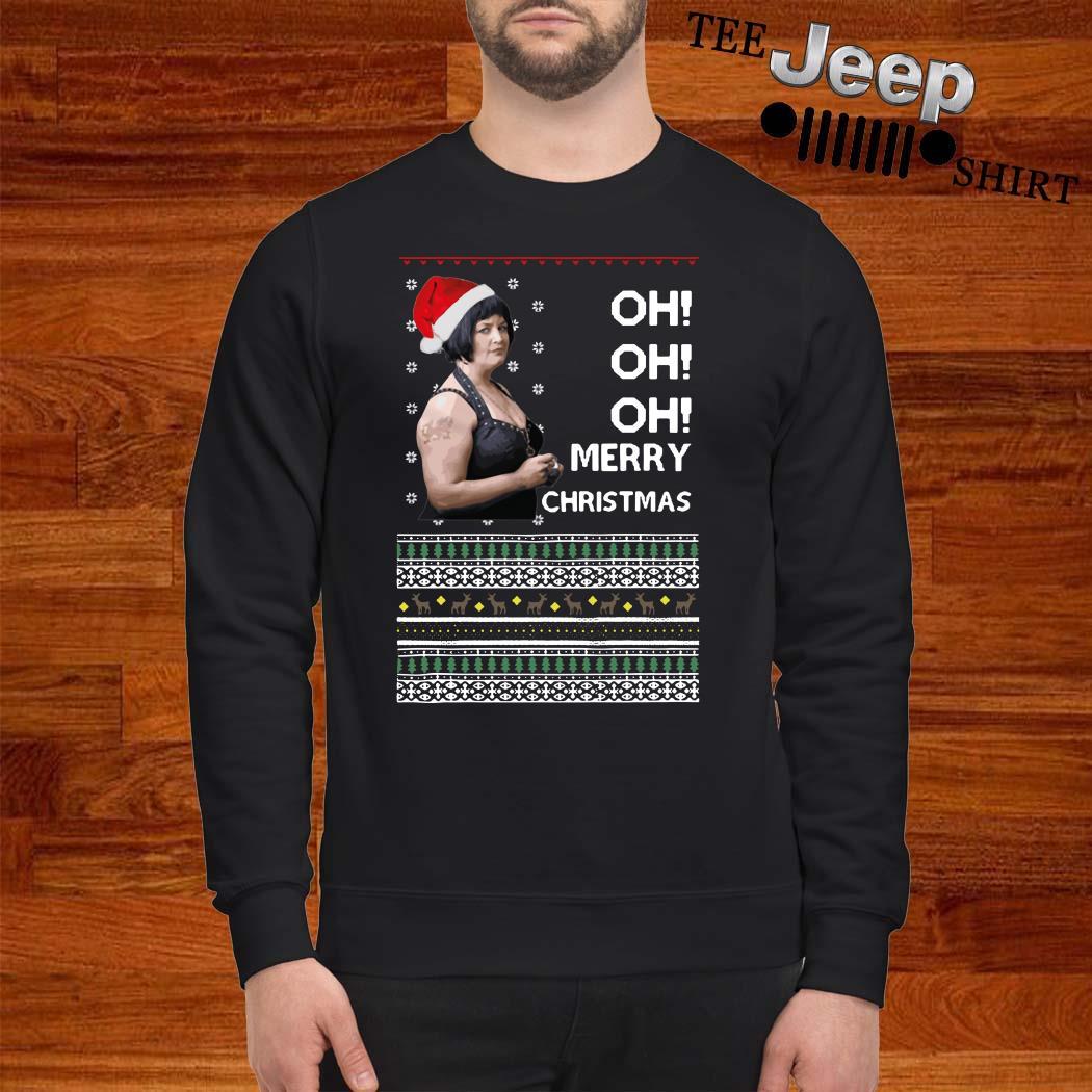 Nessa Jenkins Oh Oh Oh Merry Christmas Ugly Sweatshirt