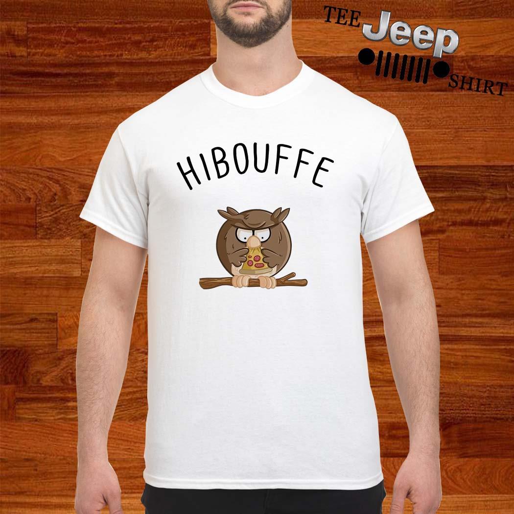Owl Bird Pizza Hibouffe Shirt