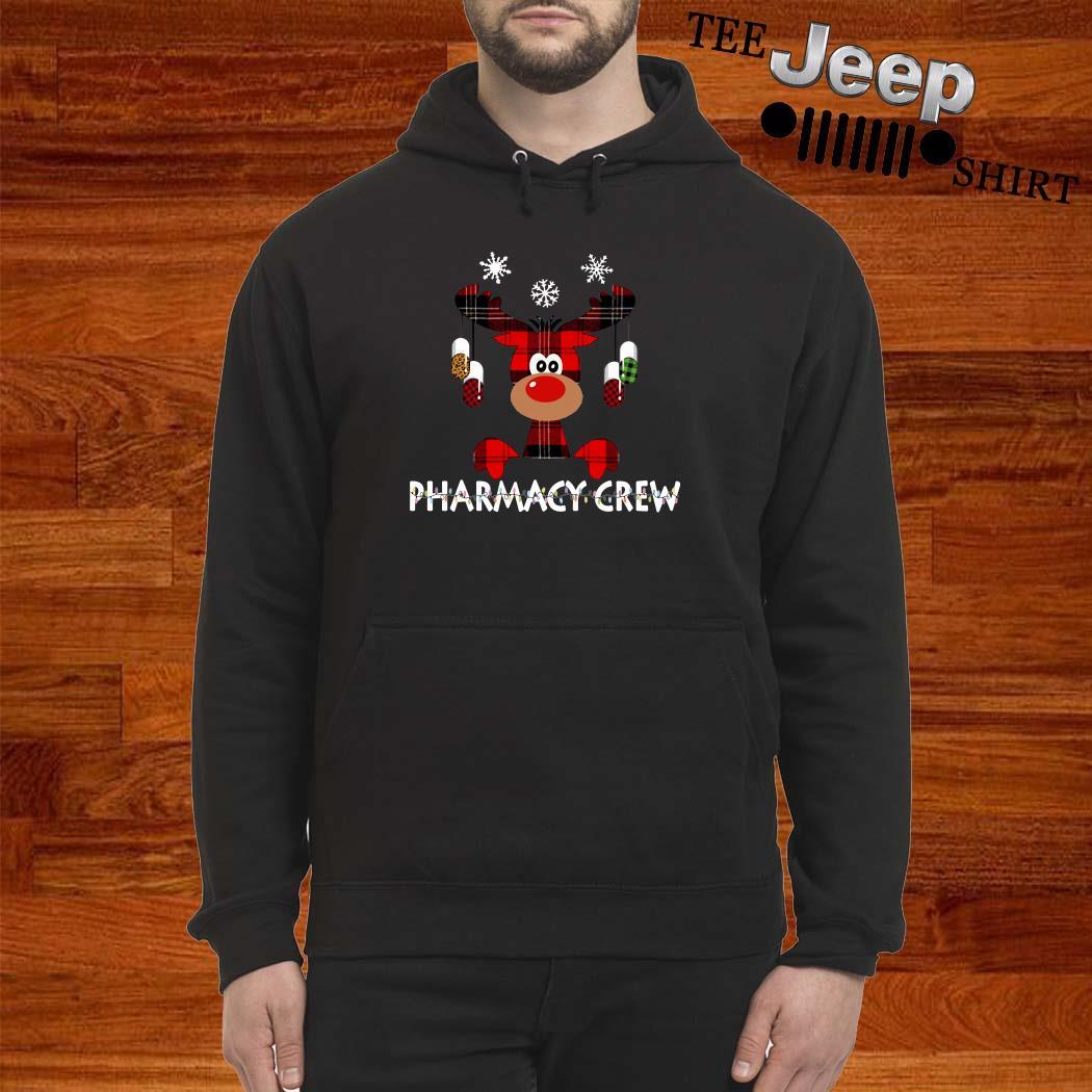 Reindeer Pharmacy Crew Christmas Hoodie