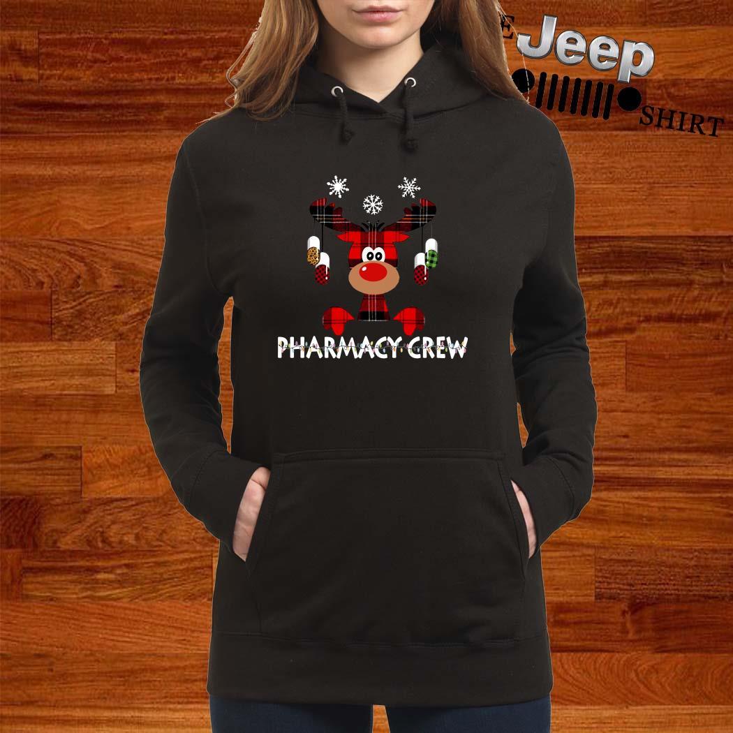 Reindeer Pharmacy Crew Christmas Women Hoodie