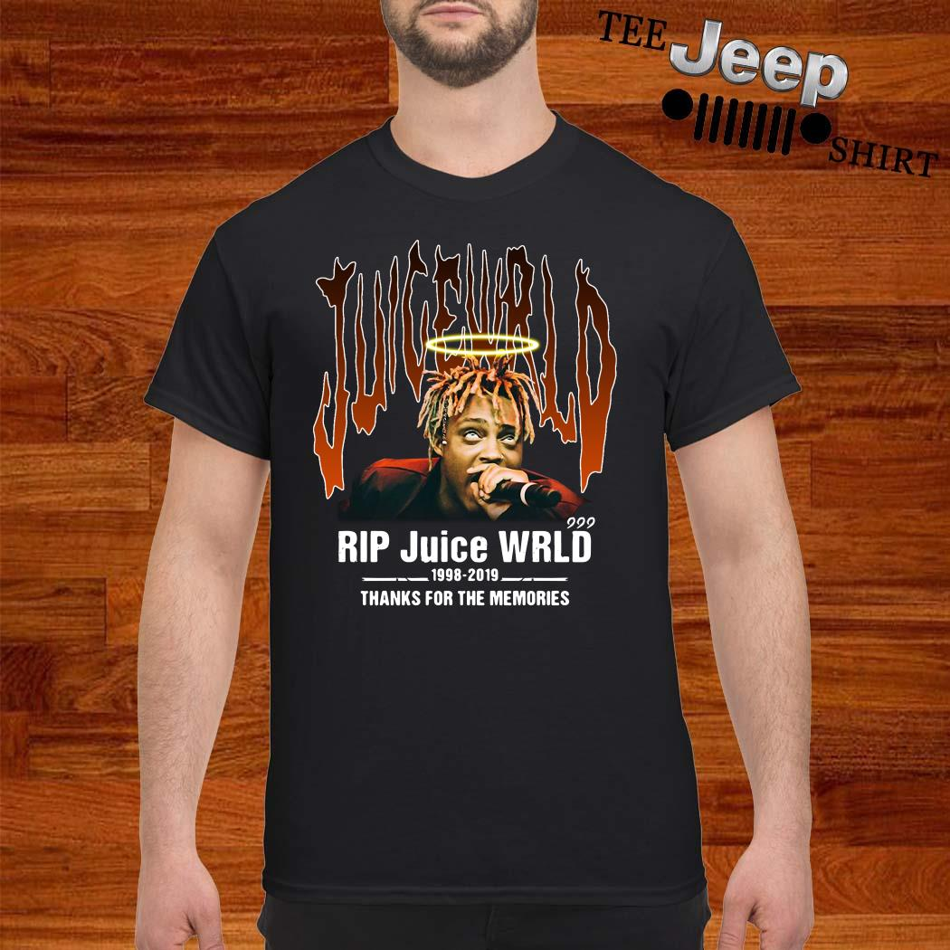 RIP Juice Wrld 1998-2019 Thanks For The Memories Shirt