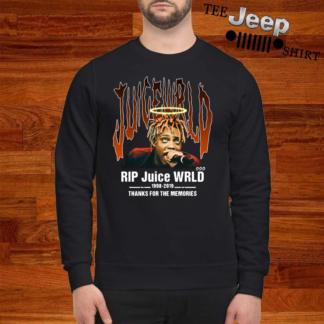 RIP Juice Wrld 1998-2019 Thanks For The Memories Sweatshirt