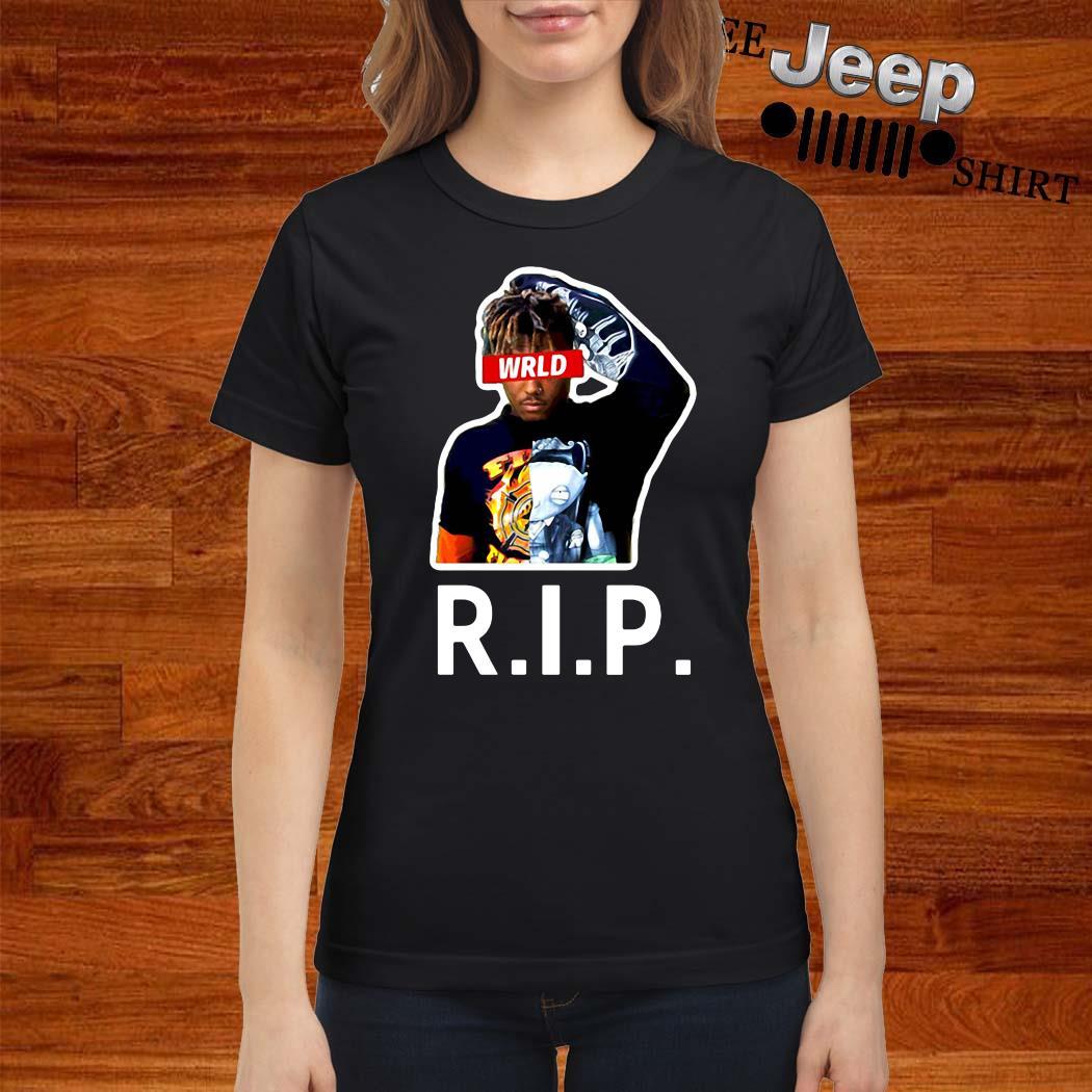 Rip Rest In Peace Juice Wrld Ladies Shirt