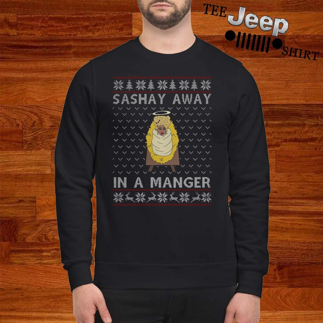 RuPaul Sashay Away In A Manger Ugly Christmas Sweater