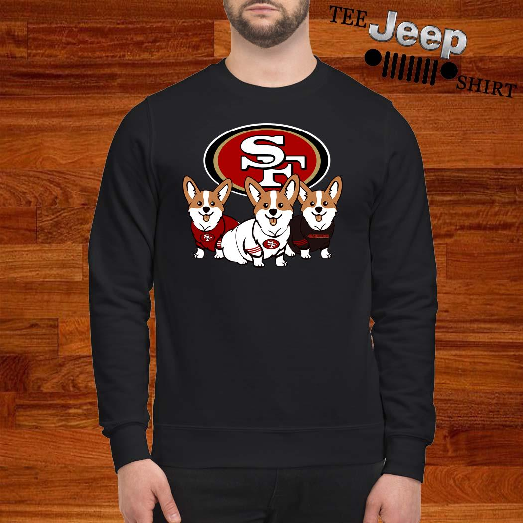 San Francisco 49ers Corgi Sweatshirt