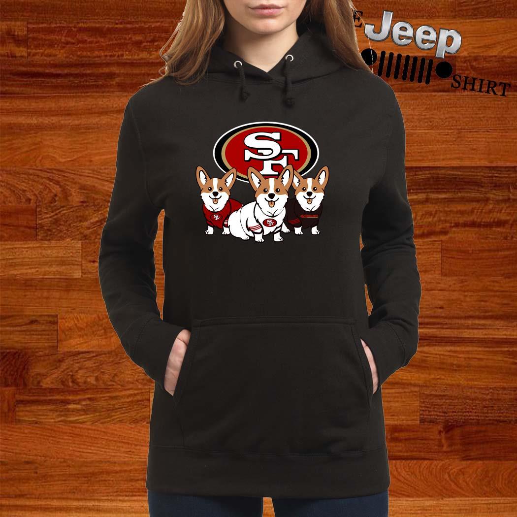 San Francisco 49ers Corgi Hoodie