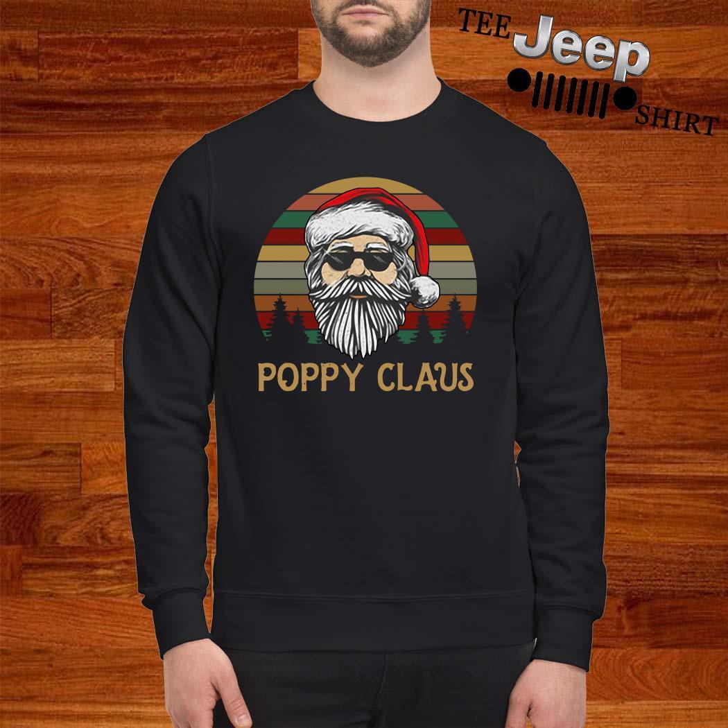 Santa Claus Poppy Claus Vintage Sweatshirt