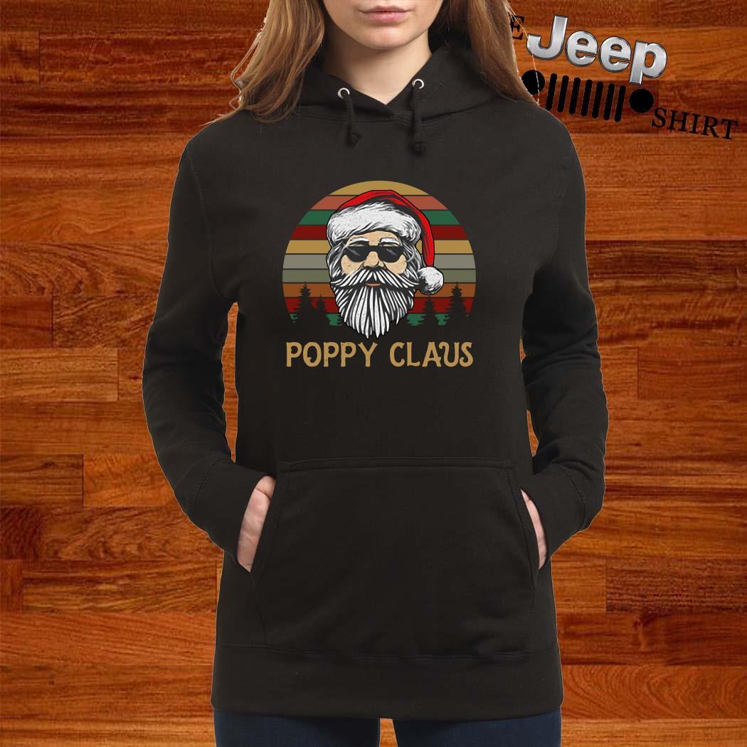 Santa Claus Poppy Claus Vintage Hoodie