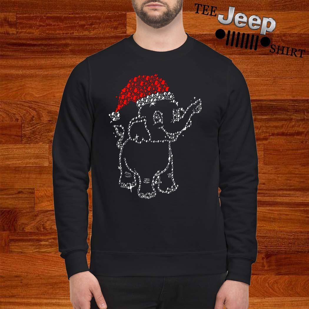 Santa Elephant Diamond Christmas Sweatshirt