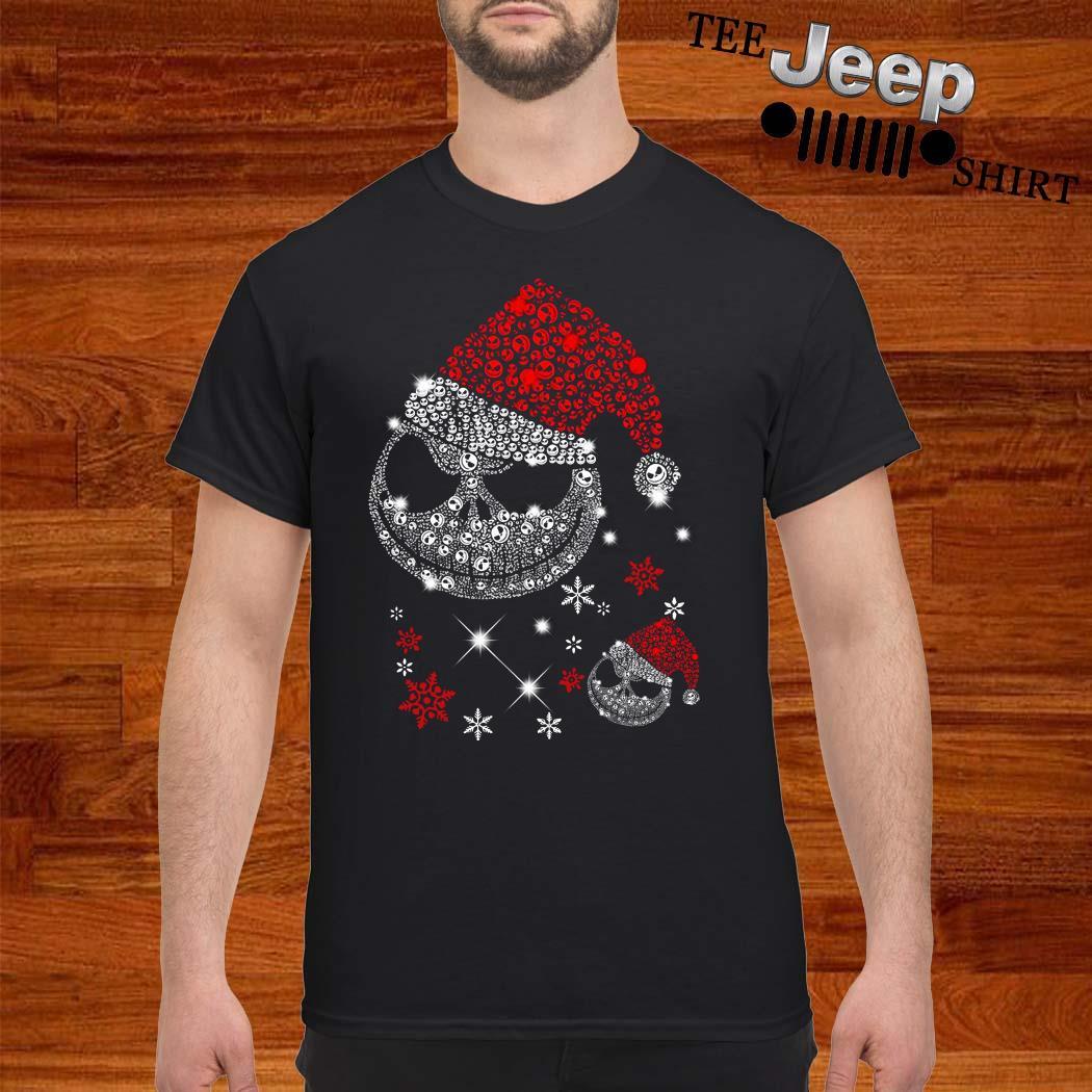 Santa Jack Skellington Diamond Shirt