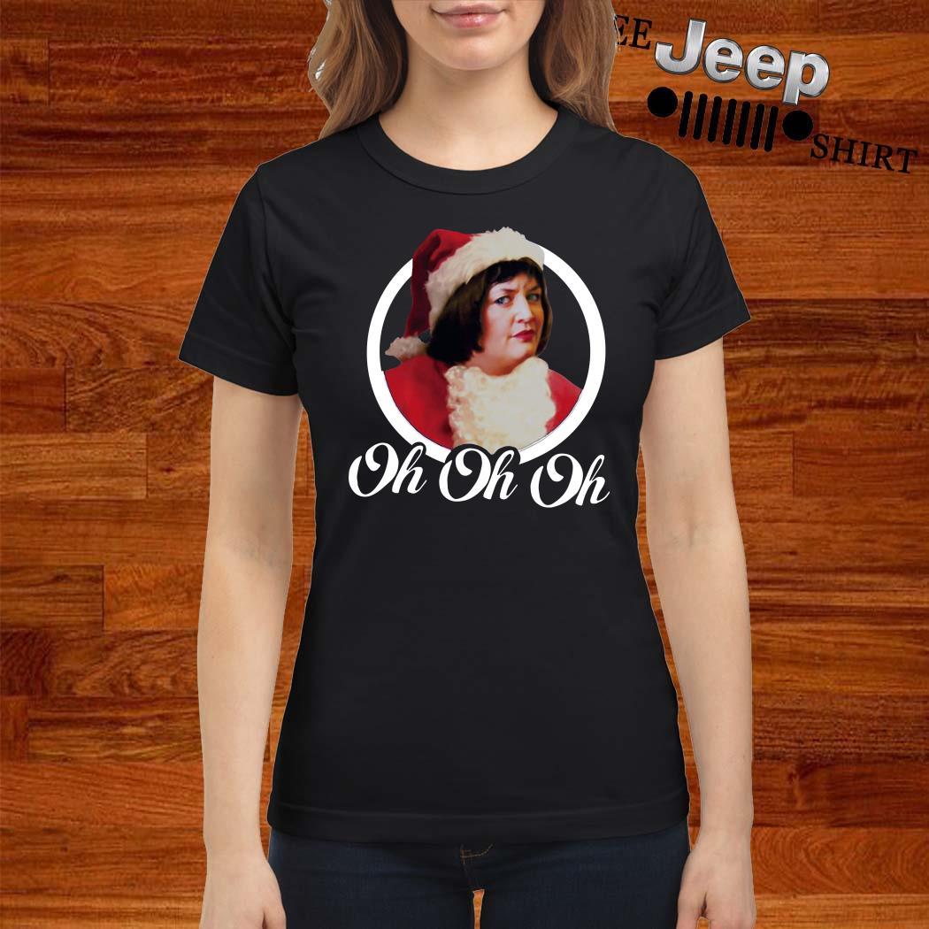 Santa Nessa Jenkins Oh Oh Oh Ladies Shirt