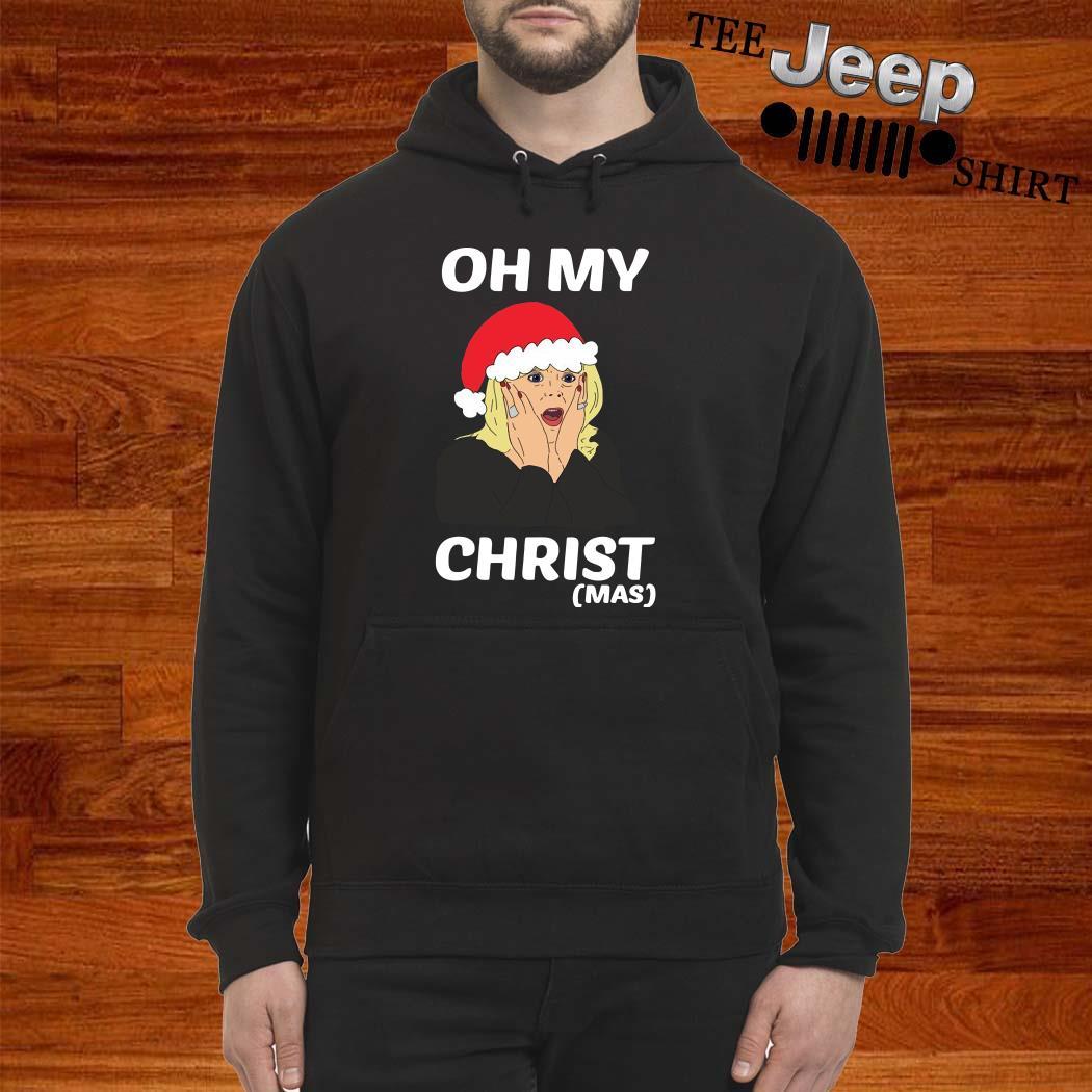 Santa Stacey Shipman Oh My Christmas Hoodie